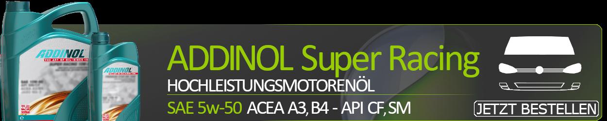 ADDINOL Motoröl 5W50 Super Racing 5W-50