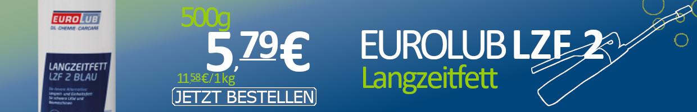 Eurolub Schmierfett Langzeitfett LZF 2 Blau