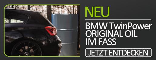 BMW TwinPower Turbo Fass