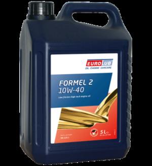 Eurolub Motoröl 10W40 Formel 2 / 5 Liter