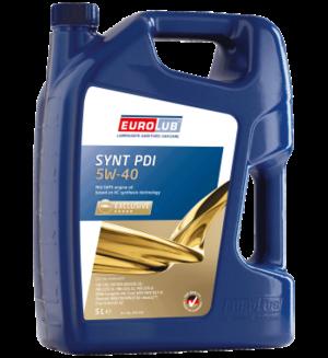 Eurolub Motoröl 5W40 Synt PDI / 5 Liter