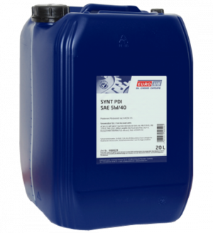 Eurolub Motoröl 5W40 Synt PDI / 20 Liter