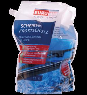 Eurolub Scheibenfrostschutz Fertigmischung -20°C / 3 Liter Beutel