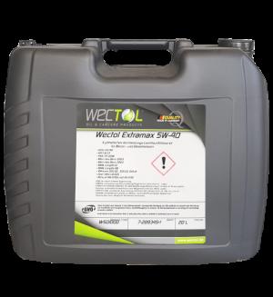 Wectol Motoröl 5W-40 Extramax 5W-40 / 20 Liter