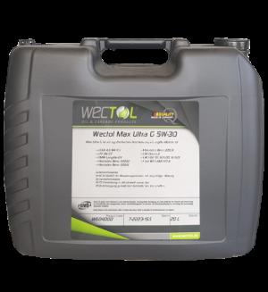 Wectol Motoröl 5W30 Max Ultra G 5W-30 / 20 Liter