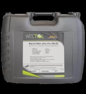 Wectol Motoröl 5W30 Max Ultra Pro 5W-30 / 20 Liter