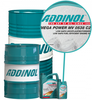 ADDINOL Motoröl 5W30 Mega Power MV 0538 C2