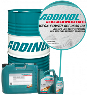 ADDINOL Motoröl 5W30 Mega Power MV 0538 C4