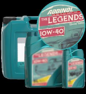 Addinol Oldtimer Öl Legends 10w40
