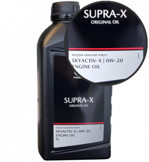Mazda Motoröl 0W20 Original Oil Supra-X 0W-20